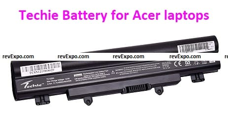 Techie Battery for Acer laptops