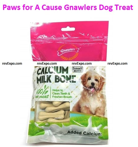 Paws for A Cause Gnawlers Dog Treat