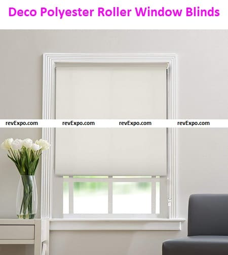 Deco Polyester Roller Window Blinds