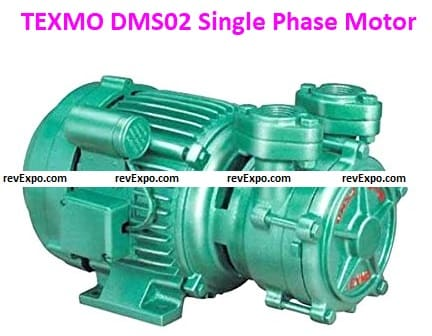 TEXMO DMS02 Single Phase water Pump