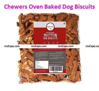 Chewers Oven Baked (Real Mutton) Dog Biscuits