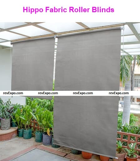 Hippo Fabric Roller Blind