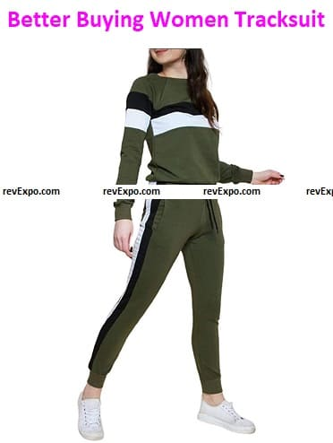 Better Buying (Women) Polyester Cotton Tracksuit Set