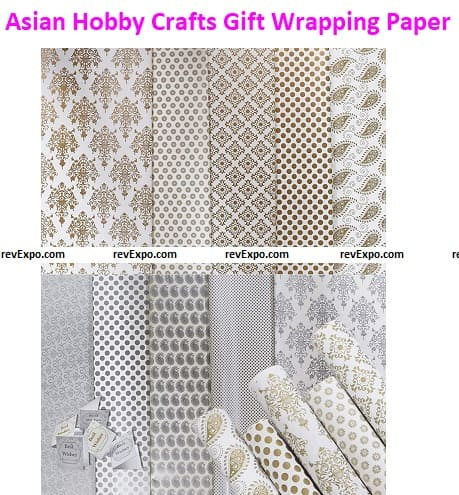 Asian Hobby Crafts Gift Wrapping Paper