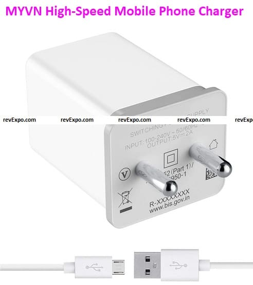 MYVN High-Speed Mobile Phone Wall Charger