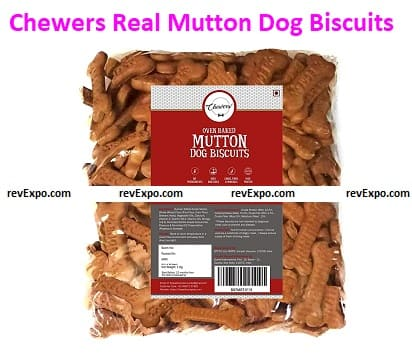 Chewers Oven-Baked Real Mutton Dog Biscuits