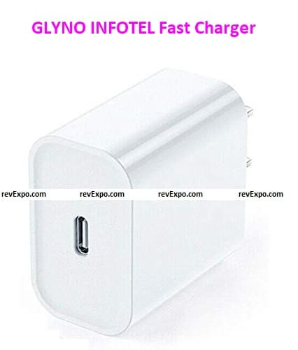 GLYNO INFOTEL Fast Charging Power Adapter