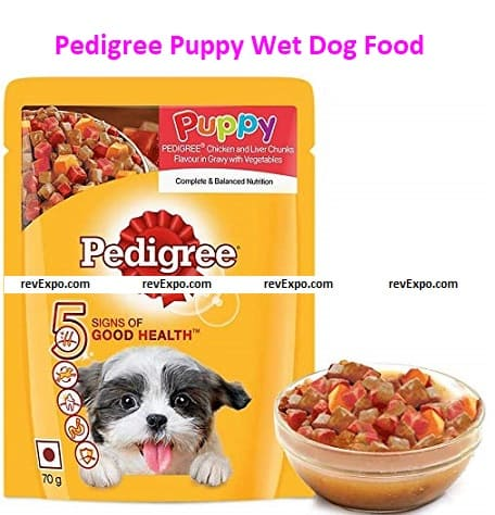 Pedigree Puppy Wet Dog Food in Gravy with Vegetables