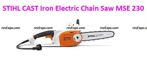 STIHL CAST Iron Electric Chain Saw MSE 230