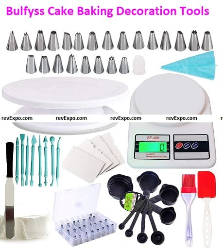 Bulfyss Cake Baking and Decoration Tools & Accessories