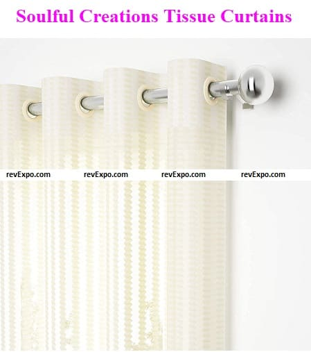 Soulful Creations Tissue Curtain