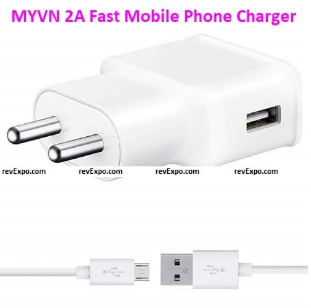 MYVN 2A Fast Mobile Phone Charger
