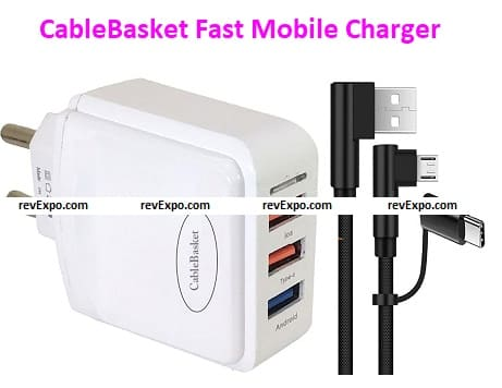 CableBasket Fast Mobile Charger