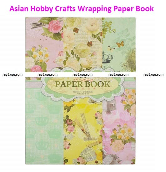 Asian Hobby Crafts Wrapping Paper Book
