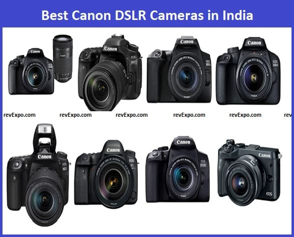 Best Canon DSLR Cameras in India