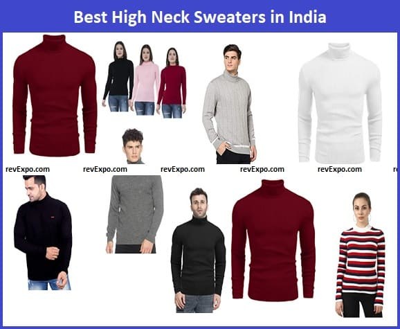 Best High Neck Sweater in India