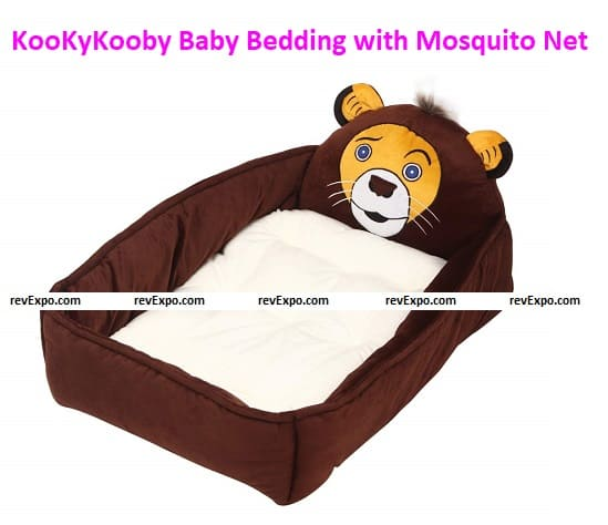 KooKyKooby Baby Bedding with Mosquito Protection Net