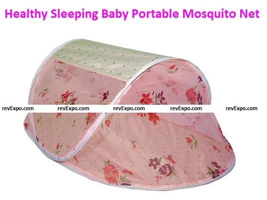 Healthy Sleeping Polyester Baby Portable Mosquito Net
