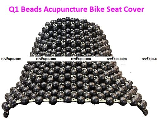 Q1 Beads Acupuncture Design Bike Seat Cover Cushion
