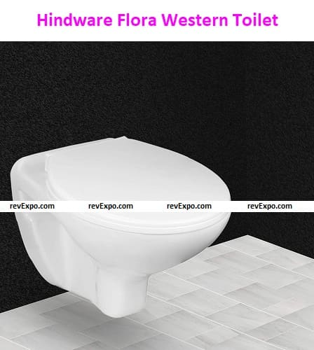 Hindware Flora One-Piece Wall Mounted Western Toilet