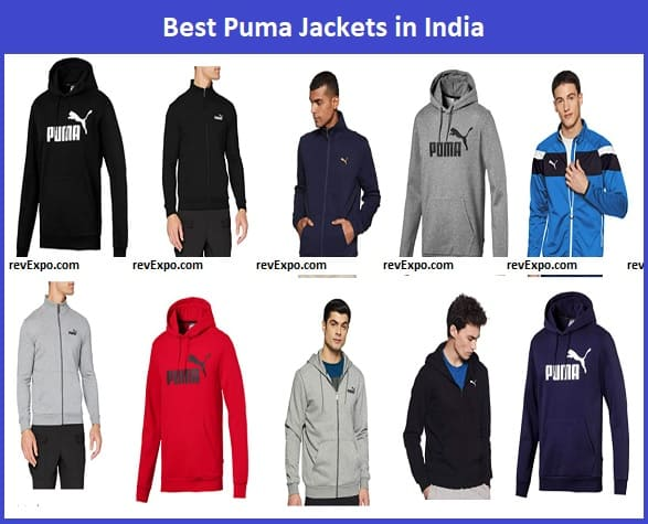 Best Puma Jackets in India