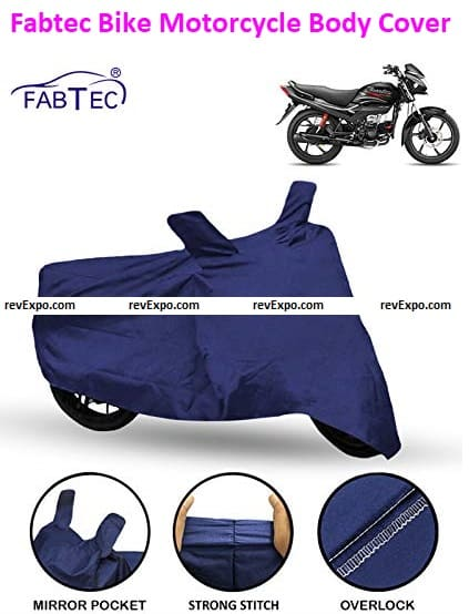 Fabtec Motorcycle Cover for Hero Passion Plus