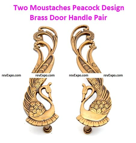 Two Moustaches Peacock
