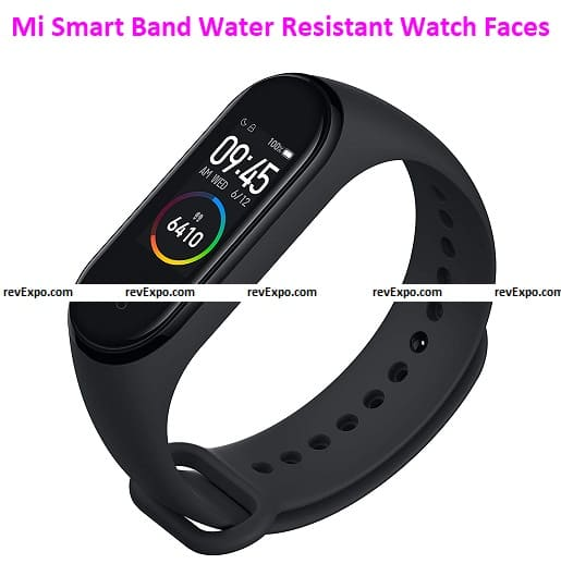 Mi Smart Band Water Resistant Watch Faces