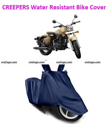 CREEPERS Water Resistant Bike Cover for Royal Enfield Classic 350 Bullet