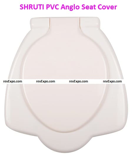 SHRUTI PVC Anglo Indian Commode Seat Cover