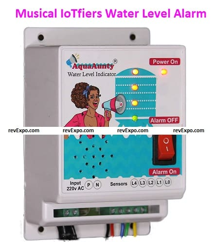 Musical IoTfiers Water Level Alarm