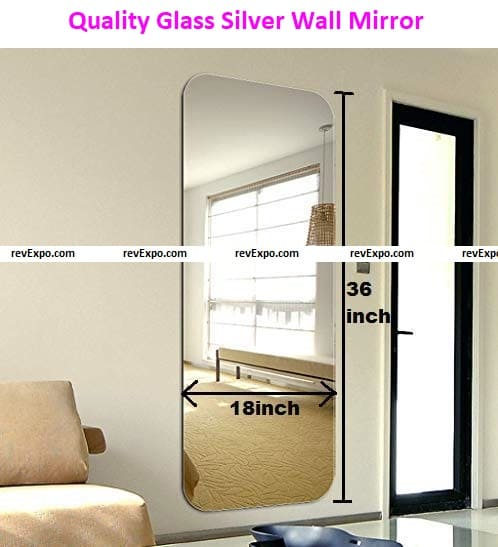 Quality Glass Silver Wall Mirror