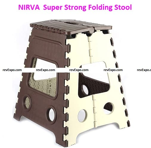 NIRVA 16 Inches Super Strong Folding Step Stool