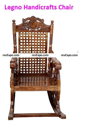 Legno Handicrafts Chair for Living Room