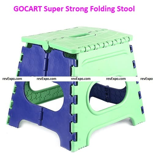 GOCART 12 Inches Super Strong Folding Step Stool