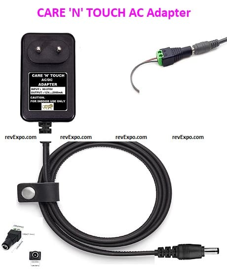 CARE 'N' TOUCH Yamaha Keyboard Cord & AC Adapter