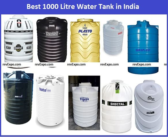 Best 1000 Litre Water Tank in India