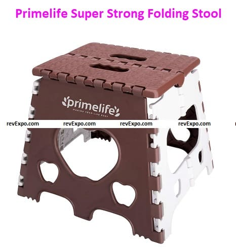 Primelife 12 Inches Super Strong Folding Step Stool