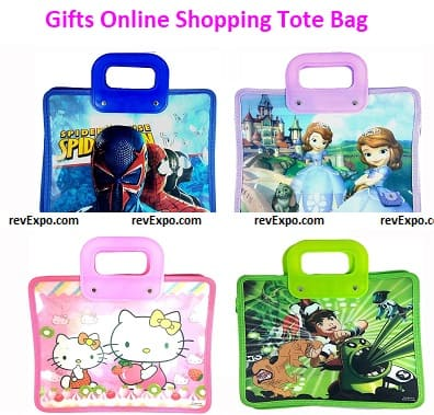 Gifts Online Shopping Tote Bag