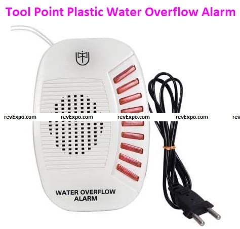Tool Point Top-Quality Plastic Water Overflow Tank Alarm