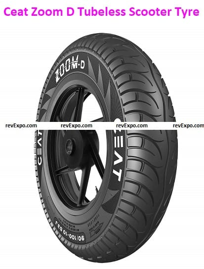 Ceat Zoom D Tubeless Scooter Tyre