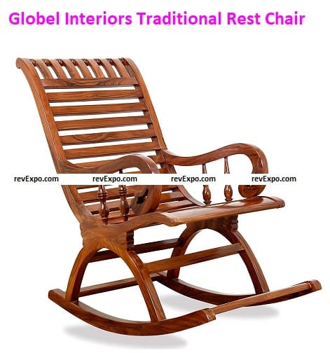 Globel Interiors Traditional Arm Rest Chair
