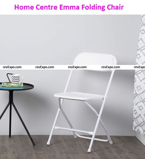 Home Centre Emma Solid Metal Folding Chair
