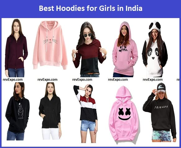 Best Hoodies for Girls in India