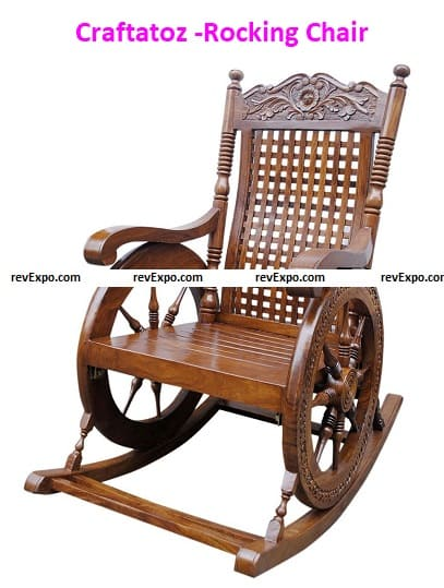 Craftatoz -Rocking Chair for Living Room
