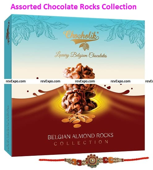 Assorted Chocolate Rocks Collection Box of Gift