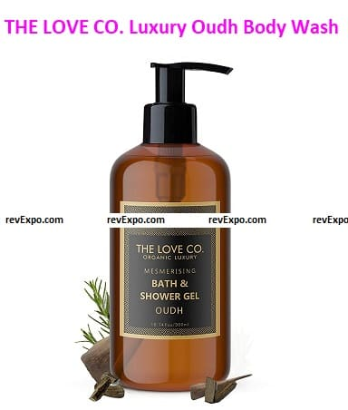 THE LOVE CO. Luxury Oudh Body Wash