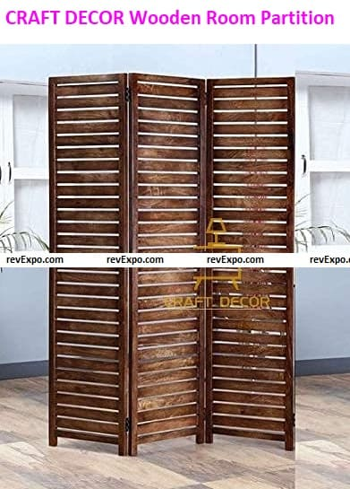 CRAFT DECOR Wooden Room Partition