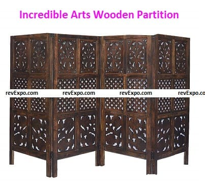 Incredible Arts Wooden Partition Screen