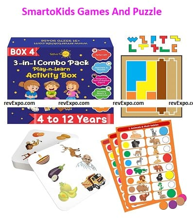 SmartoKids Games And Puzzle